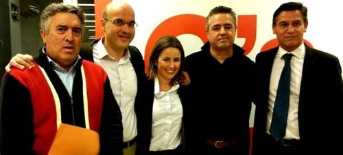 Reunión en Granada de Coordinadores de Ciudadanos de la Costa