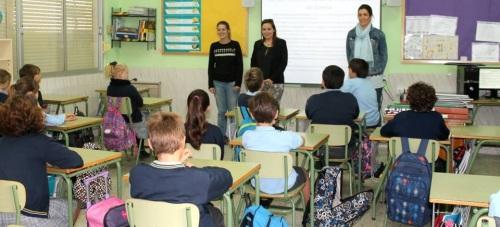 Se inician los talleres de prevención contra la violencia de género dirigidos a los alumnos de Salobreña