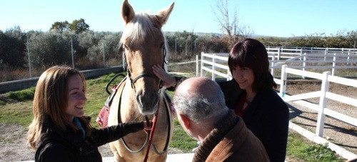 Terapia con caballos para favorecer la integración