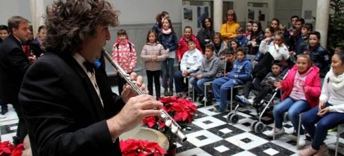 """450 escolares participan en las actividades del """"Caleidoscopio Navideño"""" de Diputación"""