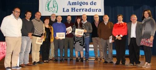 Andrés Francisco Rodríguez Blanco primer premio del 'IX Certamen de Poesía Amigos de La Herradura'