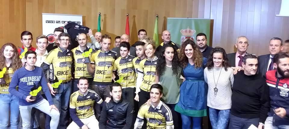 Clausura y entrega de Premios del Circuito Provincial de BTT Diputación-DR. BIKE 2015