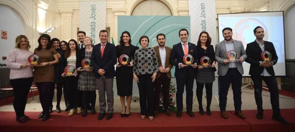 El Instituto Andaluz de la Juventud entrega los premios Granada Joven