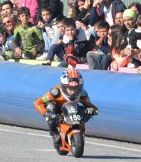 El piloto sexitano Abel Rodríguez cierra la temporada tercer clasificado en el Provincial de Málaga
