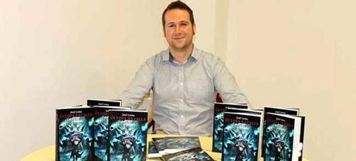 El sexitano José Loma presenta esta tarde su libro 'Ultima Batalla, El Señor de las Bestias'
