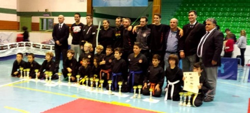 Excelente participación de los kenpoístas sexitanos en el torneo internacional de kenpo 2015