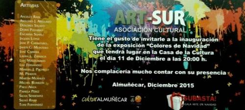 Exposición colectiva de la asociación artística local 'Art-Sur'