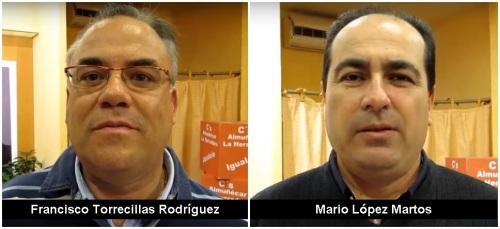 Fco. Torrecillas Rodríguez y Mario López Martos