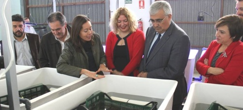 Flor Almón destaca 'el compromiso constante' de la Junta con Motril tras el encuentro del equipo de Gobierno con el consejero de Economía y Conocimiento