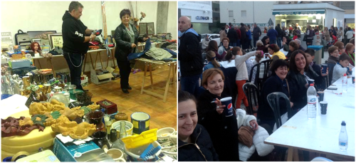 Herradureños y visitantes participaron en la merienda pro Cabalgata 2016