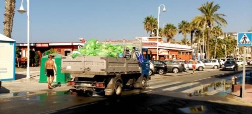 La basura se recogerá en Almuñécar y La Herradura los días 24 y 31 de diciembre de 16.00 a 19.00 horas
