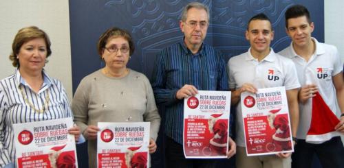 La 'Ruta Navideña sobre Ruedas' recaudará fondos para la lucha contra el cáncer