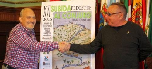 La 'XVI Subida Pedestre al Conjuro' espera una participación de más de 200 corredores