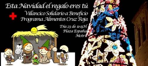 La plaza de España acoge este miércoles el 'Villancico Solidario', una actividad solidaria donde se recogerán alimentos para Cruz Roja