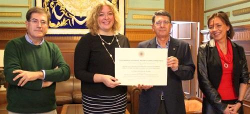 La UNED de Motril recibe un reconocimiento nacional por la gestión de su servicio de tutorías con los alumnos