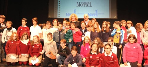 Los escolares de Motril celebran el Día Internacional de los Derechos Humanos
