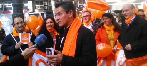 Luis Salvador 'Si en las urnas recogemos una mínima parte de lo que estamos recibiendo en la calle, vamos a tener un resultado espectacular'