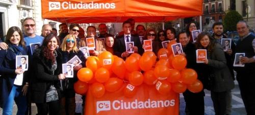 Luis Salvador 'Tenemos muy claro que lo fundamental es crear empleo y que Ciudadanos presenta un proyecto económico para eso'