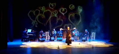 María Gómez 'La Canastera' presentó 'Navidad Flamenca' con gran éxito