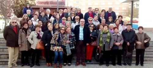 Más de 50 'Motrileños en Ruta' disfrutan de los lugares más emblemáticos de Granada