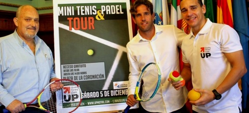 Motril pone en marcha el proyecto 'Mini Tenis & Padel Tour'