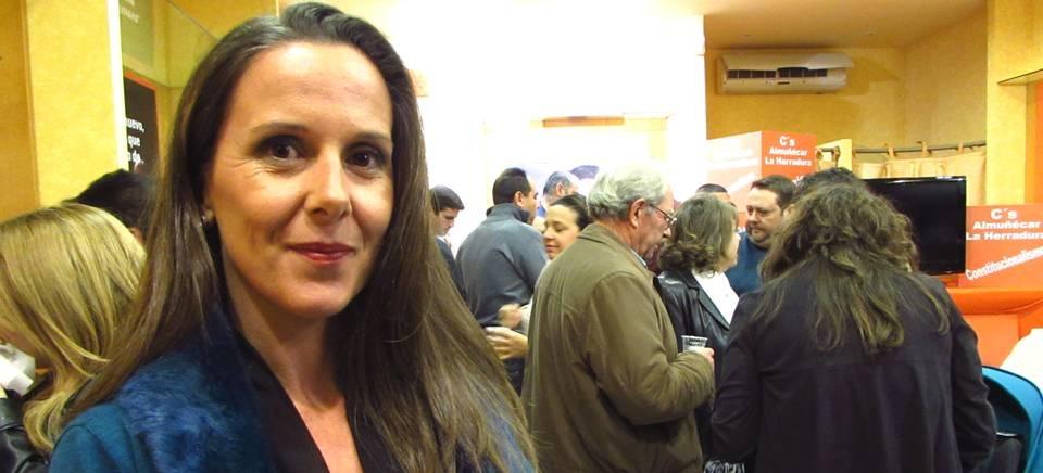 Patricia Valero García, responsable de Ciudadanía en C's Almuñécar y La Herradura