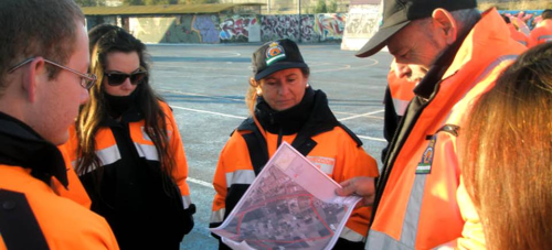 Protección Civil de Almuñécar colabora en la búsqueda de un anciano desaparecido en Granada