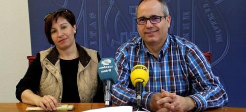 Rosario Bautista y David Martín