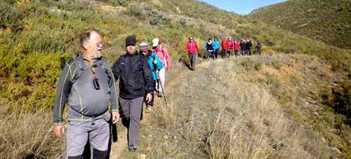 Senderistas sexitanos recorrieron una nueva etapa de la Ruta del Pescao
