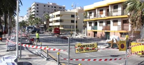 Una rotonda dará acceso desde la Avenida Juan Carlos I a Puerta del Mar y Velilla