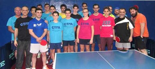 Adrián Antequera campeón absoluto del XVIII Torneo de Navidad de Tenis de Mesa Almuñécar 2015