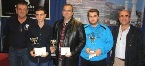 Antonio Gamundi Salamaca gana el II Open Internacional de Ajedrez Almuñécar- Trópico de Europa