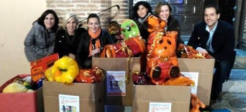 Ciudadanos Motril entrega los juguetes recogidos durante su campaña solidaria