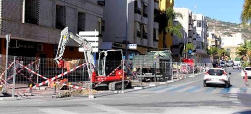 Comienzan los trabajos de instalaciones de canalizaciones en la zona norte de la avenida Rey Juan Carlos I