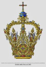 diseño de la corona de la coronacion canonica de nuestra señora de la antigua de almuñecar patrona de almuñecar diseño cofrade alvaro abril vela 2015