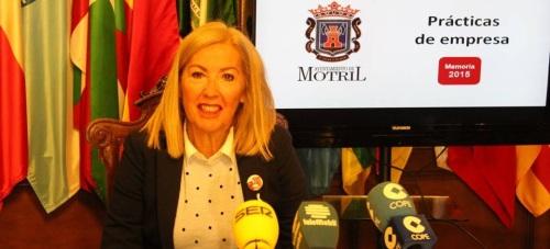 El área de Personal presenta el balance de los alumnos que han realizado practicas en el Ayto. de Motril