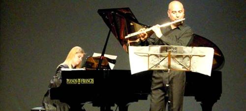 El Dúo Mima ofrece este próximo lunes un concierto de flauta y piano en Almuñécar