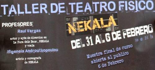 El 'V taller de teatro físico' trae las nuevas formas de interpretación teatral a Motril