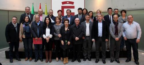 El primer Consejo de Alcaldes analiza la situación del ciclo integral del agua y la tasa de tratamiento de residuos