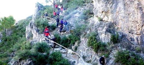 Este domingo arranca el programa de senderismo 2016 del PMD Almuñécar