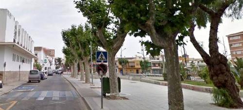 La concejalía de Parques y Jardines inicia la poda del arbolado de las calles Santa Ana, Pio XII y Cáceres