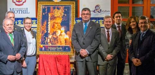 La imagen de María Santísima de la Misericordia ilustra el cartel oficial de la Semana Santa de Motril 2016