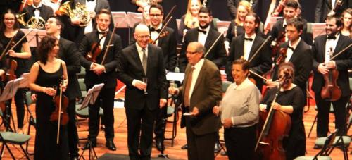La Joven Orquesta del Sur de España ofreció un gran concierto de Año Nuevo en Almuñécar