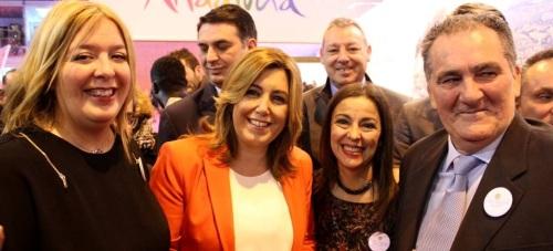 La presidenta de la Junta de Andalucía destaca las expectativas de crecimiento turístico de Motril y la Costa Tropical