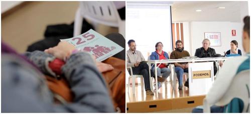 Podemos presentó en Motril la Ley 25 de Emergencia Social