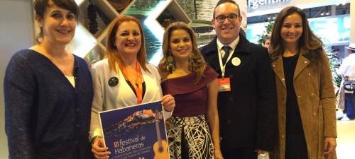 Salobreña_Presentación en Fitur de la III Edición del Festival Internacional de Habaneras y Música Iberoamericana de la Costa Tropical