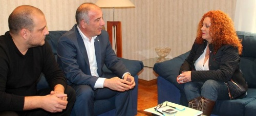 Sergio García, presidente de Mancomunidad de Municipios de la Costa Tropical, ha girado visita a Salobreña