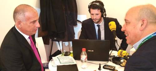 Sergio García presume en FITUR de representar a la Costa más bella de España