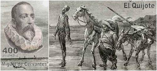 400 aniversario Miguel de Cervantes