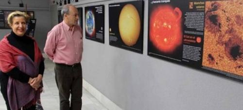 Almuñécar acoge  una exposición sobre la Tierra  y el  Universo